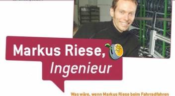 Laternenmond: Markus Riese der Fahrradingenieur