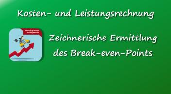 Berechnung des Break-even-Points