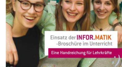 Informatik in der Berufs- und Studienorientierung an Schulen: Handreichung für Lehrkräfte erschienen