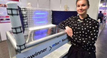 Textile Leitplanken: Studentin gewinnt Nachwuchspreis