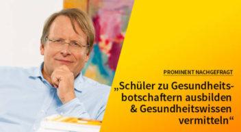 5 Fragen — 5 Antworten: Mit Prof. Dietrich Grönemeyer