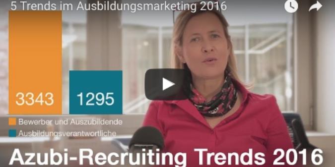 5 aktuelle Trends im Azubimarketing [Videointerview]