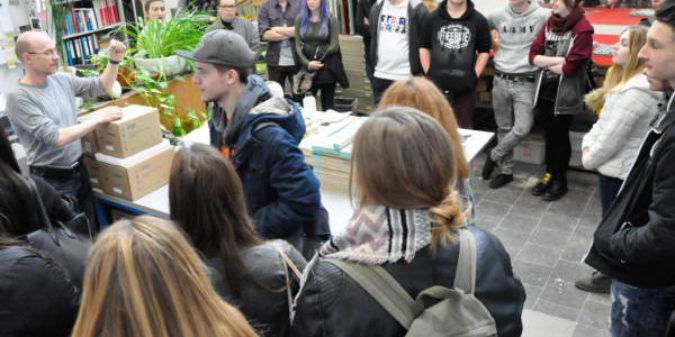 Schüler informierten sich über Design-Studium