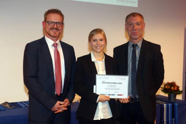 HSN, Kalthöfer Preis für Jennifer Kommas Copyright und Foto: Thomas Lammertz Veröffentlichung ist honorarpflichtig, &7%Mwst