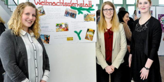 Chemie-Studierende stellen soziale Projekte vor