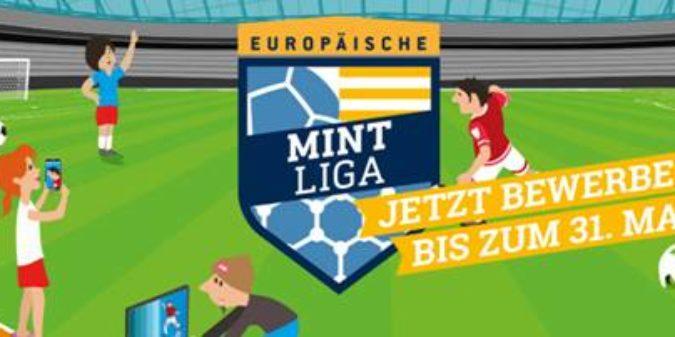 Werden Sie MINT-Champion bei der Europäischen MINT Liga!