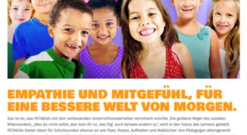 "PETAKids präsentiert neues Onlineportal mit ""tierischen"" Lehrmaterialien"