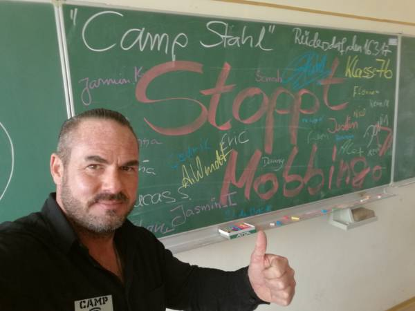 Camp Stahl - Interview mit Carsten Stahl (Cyber)Mobbing Für Lehrende Klassenraum & Schule