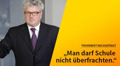 5 Fragen — 5 Antworten: Mit Prof. Hans Georg Näder