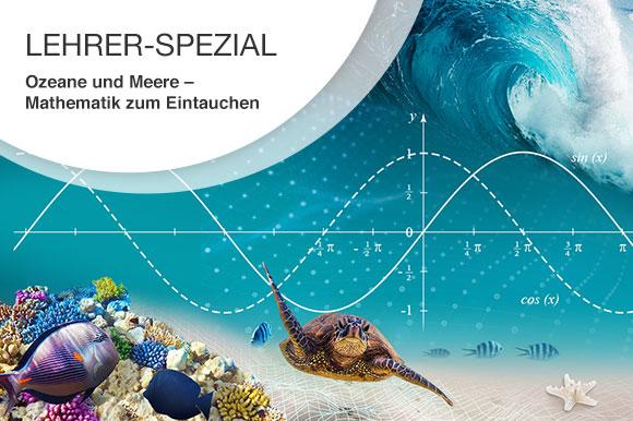 Ozeane und Meere – Mathematik zum Eintauchen Aktuelles Pressenews