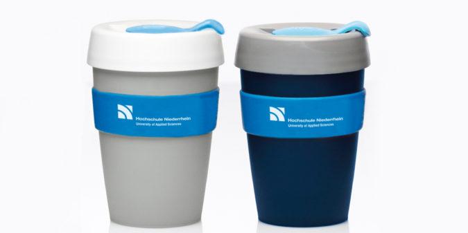 Der Umwelt zuliebe: Hochschule Niederrhein verkauft jetzt Kaffee-Mehrwegbecher