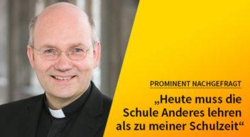 5 Fragen — 5 Antworten: mit Bischof Dr. Helmut Dieser