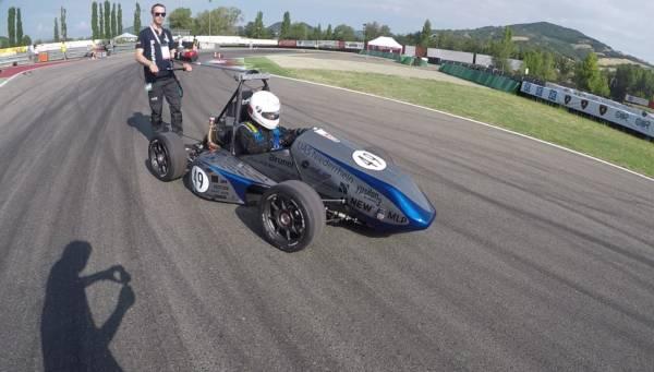 HSNR-Racing-Team mit überzeugendem Auftritt in Italien Aktuelles Pressenews