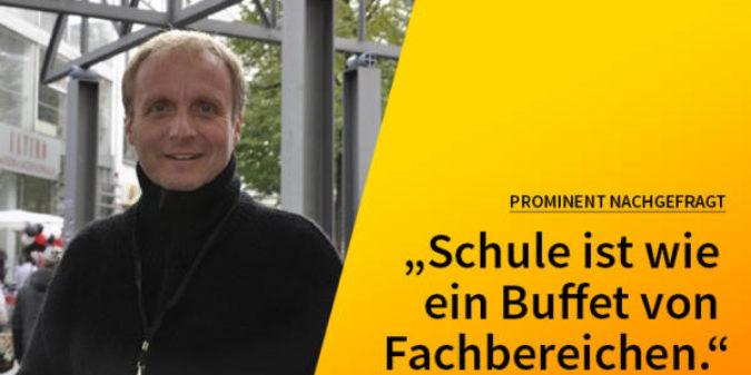 5 Fragen — 5 Antworten: Mit Reinhard Wiesemann