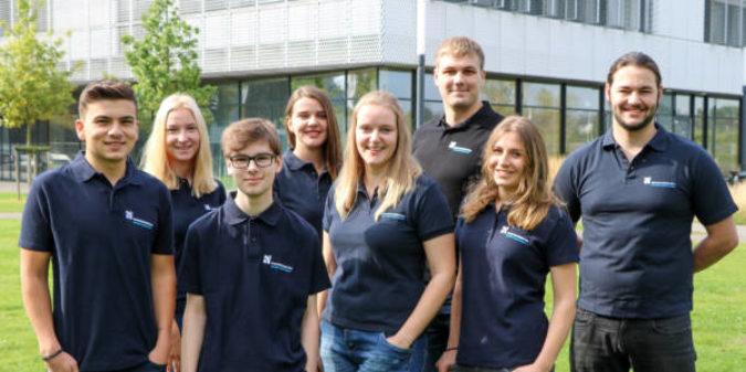 Hochschule Niederrhein begrüßt neun neue Auszubildende