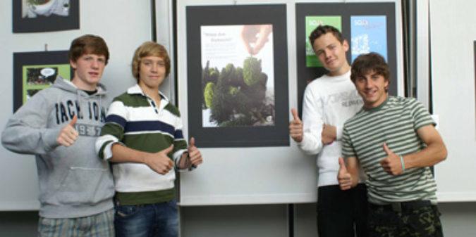 """OroVerde-Plakatwettbewerb """"Geist ist geil!"""""""
