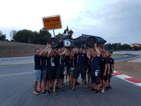 Racing-Team der Hochschule Niederrhein beendet Saison mit Erfolgserlebnis Aktuelles Pressenews