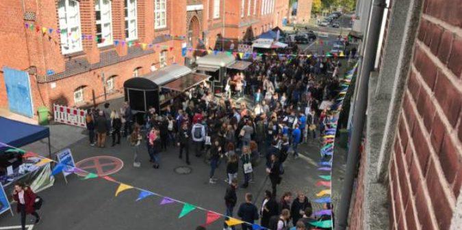 Rund 3000 junge Menschen starteten ihr Studium an der Hochschule Niederrhein