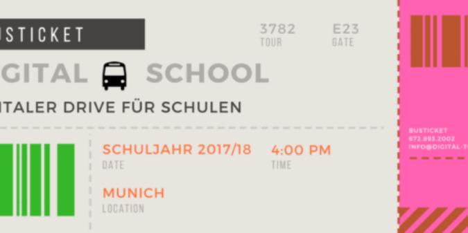 Digital-to-school  – Digitale Medienbildung mobil per Digitalbus