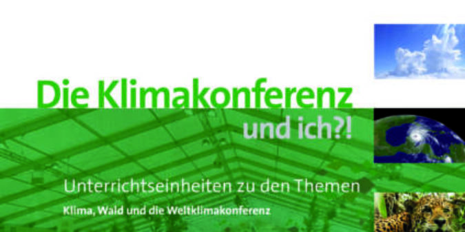 Neues Unterrichtsmaterial zu Klimakonferenz & Klimawandel