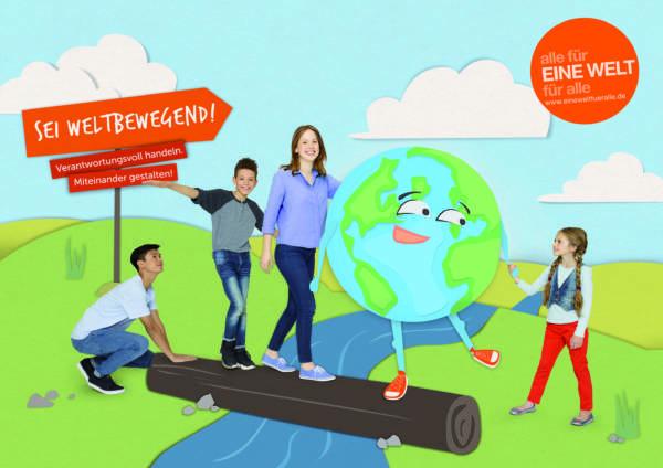 """Aufruf an Schulen: """"Seid weltbewegend!"""" Für Lernende Wettbewerbe Wettbewerbe für Schüler: Künstlerisch-Literarisch-Kreativ"""