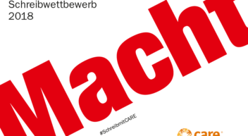 """CARE-Schreibwettbewerb: """"MACHT"""""""