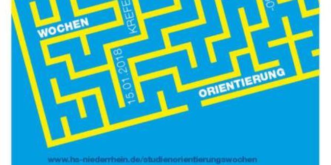 Wochen der Studienorientierung an der Hochschule Niederrhein