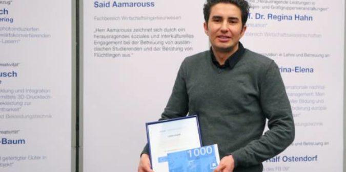 Hilfsbereit, kompetent und zuverlässig: DAAD-Preis geht an Said Aamarouss