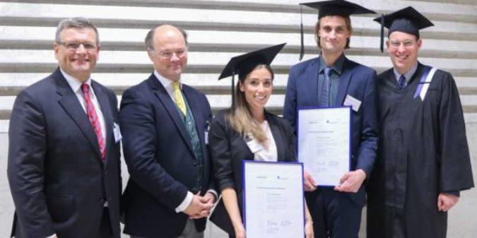 Gut für die Lehre, gut für die Region: Dissertationspreis an der HS Niederrhein vergeben