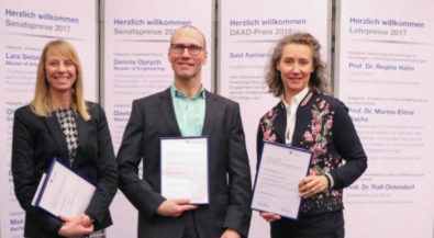 Preis für herausragende Lehre an der HS Niederrhein