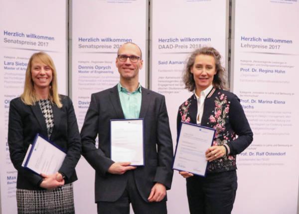Preis für herausragende Lehre an der HS Niederrhein Aktuelles Pressenews