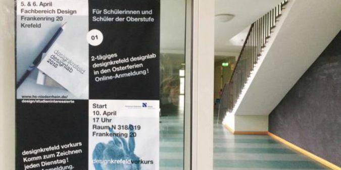 """""""designlab"""" und """"designkrefeld vorkurs"""" bieten Einblicke ins Design-Studium"""