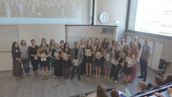 hsg Bochum verabschiedet 83 Absolvent*innen des Departments für Angewandte Gesundheitswissenschaften Aktuelles Pressenews