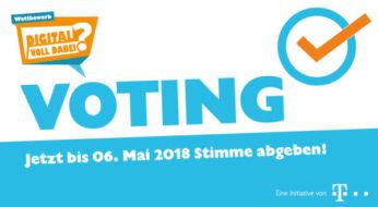 Wettbewerb der Initiative Teachtoday: Wählen Sie die Finalisten im Online-Voting!