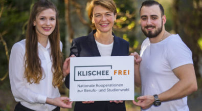 Elke Büdenbender ruft zum Girls'Day und Boys'Day 2018 auf