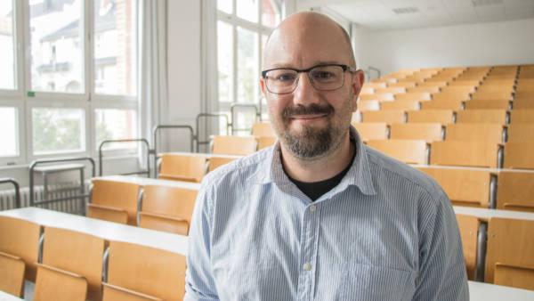 Ausgezeichnete Lehre: Professor Clemens Weiß von der TH Bingen hat den Landeslehrpreis 2018 erhalten. Quelle: TH Bingen/Daniel Walta