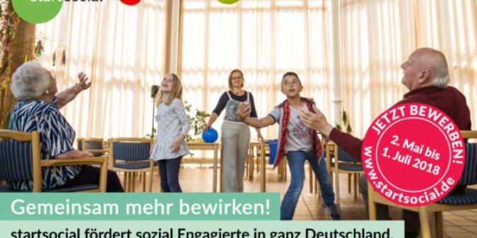 Ausschreibung: 100 Beratungsstipendien von startsocial für soziale Initiativen zu vergeben