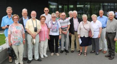 Studienstart vor 60 Jahren: Ehemalige TIS-Studenten besuchten HS Niederrhein