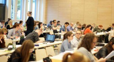 Lange Nacht an der Hochschule Niederrhein: Gemeinsam die Nacht zum Text machen!