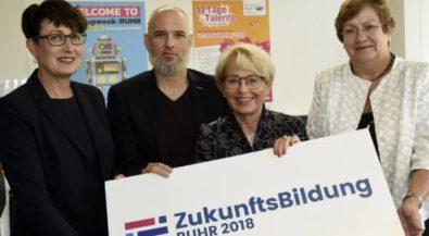 Ruhrgebiet soll innovativste Bildungs- und Wissensregion Deutschlands werden