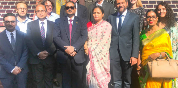 Botschafter Bangladeschs zu Gast an der Hochschule Niederrhein