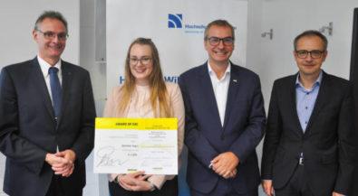 Hochschule Niederrhein: Förderpreis für Beitrag zur Digitalisierung in Unternehmen