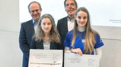 Hochschule Niederrhein: Beste Studienstarterinnen in Wirtschaftsingenieurwesen ausgezeichnet