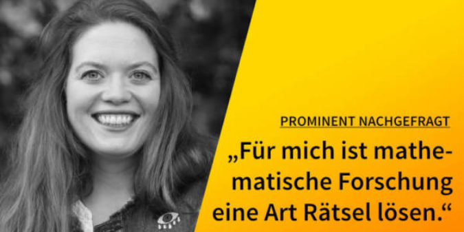 5 Fragen — 5 Antworten: mit Jun.-Prof. Franziska Jahnke