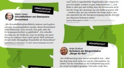 Bildungsmaterial Kohlekommission und Hambacher Wald: Raus aus der Kohle – aber wie?