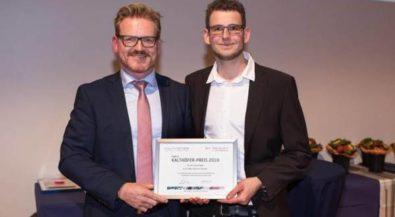 Informatik-Absolvent der Hochschule Niederrhein erhält Ewald-Kalthöfer-Preis