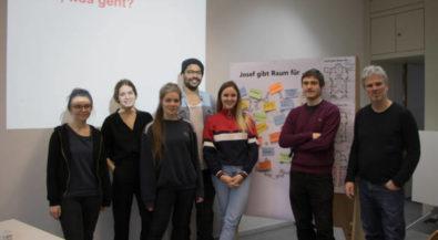 Design-Studierende der Hochschule Niederrhein entwickeln Ideen zur Umnutzung der Kirche St. Josef