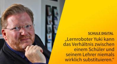 "5 Fragen — 5 Antworten ""Schule_digital"" mit Professor Christoph Igel"