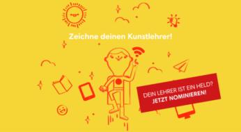 """Jetzt bewerben: """"Deutscher Lehrerpreis – Unterricht innovativ"""" Wettbewerbsrunde 2019"""