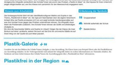 Bildungsmaterial Meeresschutz (Ergänzungsblatt): Meer entdecken! Plastikmüll im Meer (Klasse 3-4)